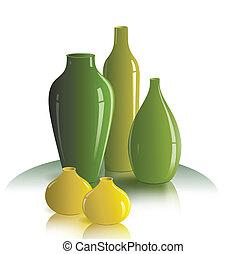 Immer noch das Leben der Vasen