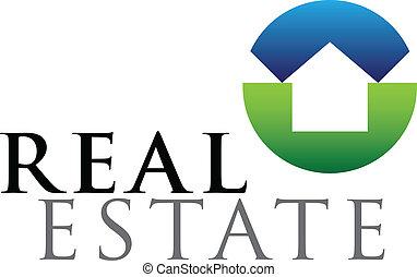 Immobilien-Emblem