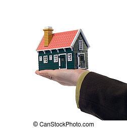 Immobilien - Haus in der Hand