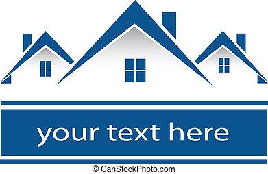 Immobilienhäuser Logo