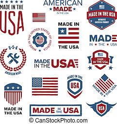 In den USA hergestellt