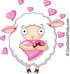 In liebende Schafe.