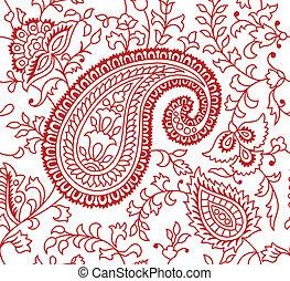Indische Textilmuster