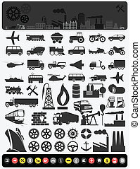 industrie, icons3