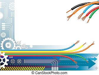 Industrieautomation Hintergrund