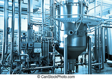 Industrieller Hintergrund