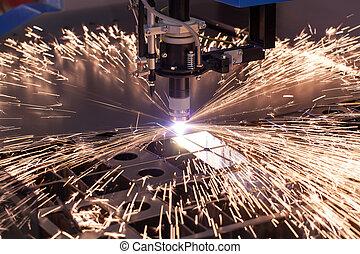 Industriemaschine für Plasma-Ausschnitt