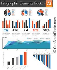 Infografische Elemente Rudel V.01