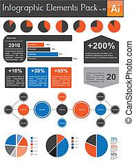 Infografische Elemente Rudel V.02