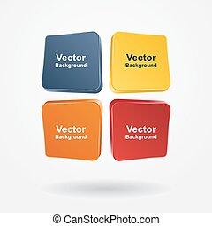 Infographic Report Vorlage. Vector Illustration