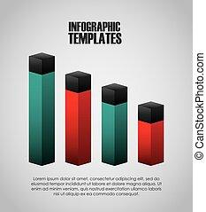 Infographische Präsentationsvorlage