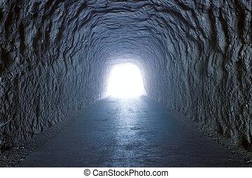 innenseite, tunnel