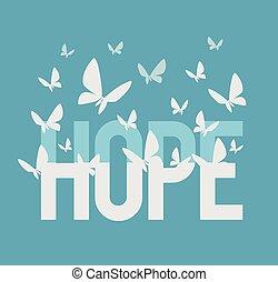 inschrift, hoffnung