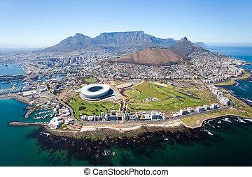 Insgesamt Aussicht auf Kapstadt.