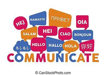 Internationale Sprachkommunikation