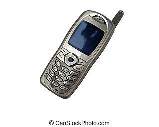 Isoliertes Handy