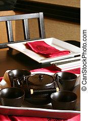Japanischer Teeservice