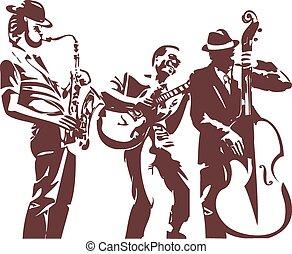 Jazzmusiker.