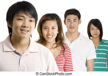 Junge Asiaten