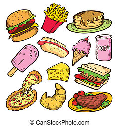 Junkfood-Doodle