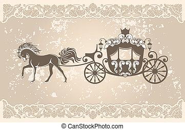 Königliche Kutsche