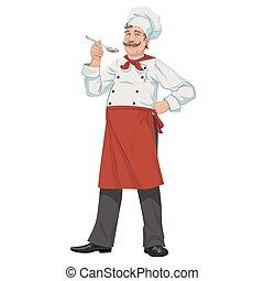 küchenchef, löffel