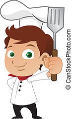 küchenchef, männlich jung