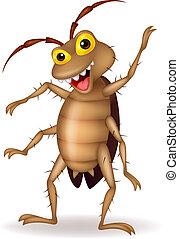 Kakerlaken-Zeichen-Zeichen Winkhand