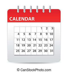 kalender, ikone