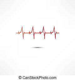 Kardiogramm-Ikone