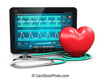 kardiologie, begriff