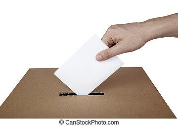 kasten, wahlmöglichkeit, wahl, stimme, politik, abstimmung, stimmzettel