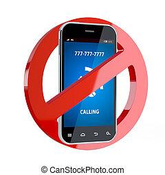Kein Handyzeichen