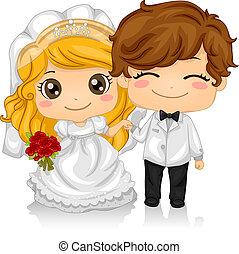 kiddie, wedding