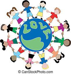 Kinder lieben Globus