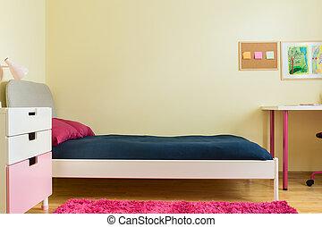 Kinderschlafzimmer.