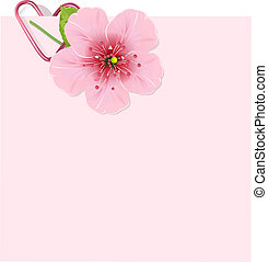 Kirschblüten-Brief