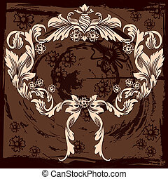 Klassische Blumendekoration