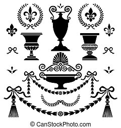 Klassische Designelemente.