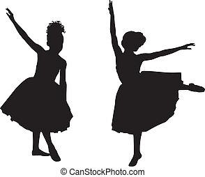Kleine Ballerinas.