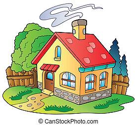 Kleines Familienhaus.