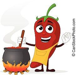 koch, chili