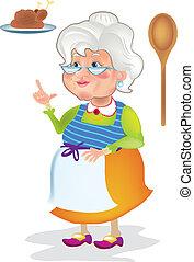 kochen, grossmutter