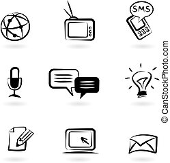 Kommunikations-Ikonen 1