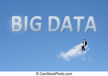 Konzept der großen Daten.