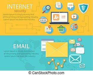 Konzept des Internetschutzes