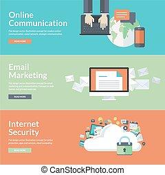 Konzepte für Online-Kommunikation.