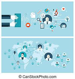 Konzepte für Online-Medizinservice