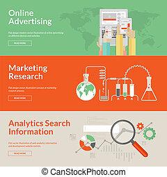 Konzepte für Onlinewerbung
