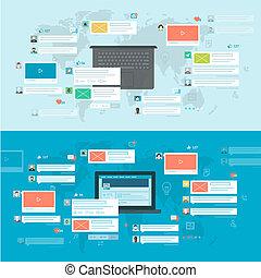 Konzepte für soziales Netzwerk